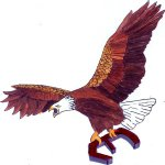 Chapter E Eagle Logo